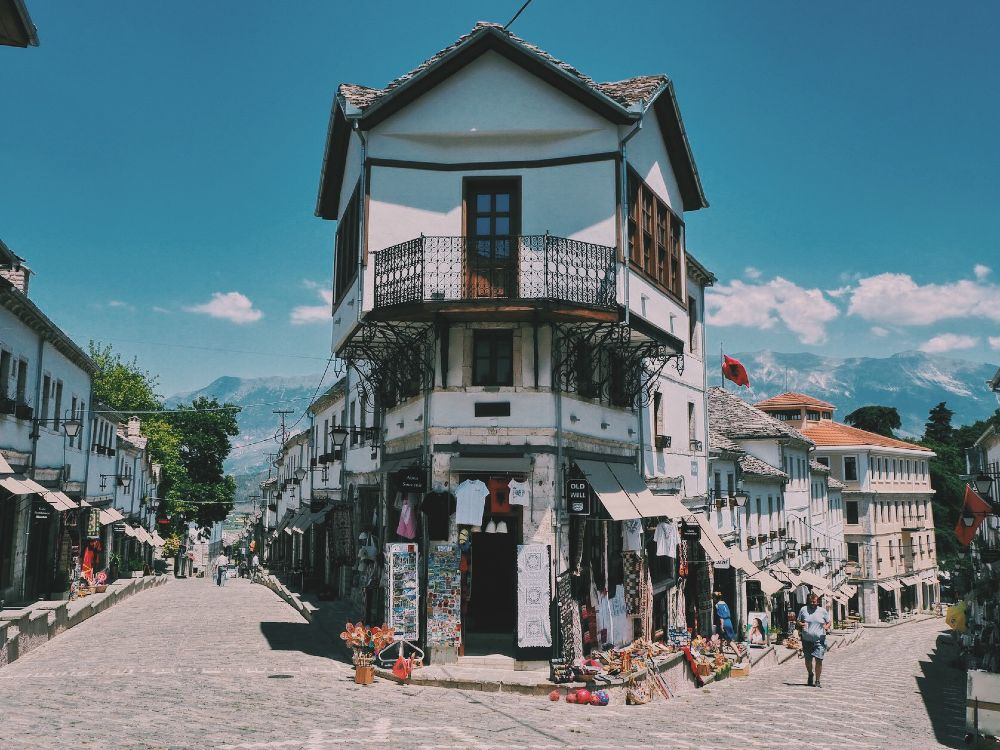 Bezienswaardigheden Albanie: Gjirokaster
