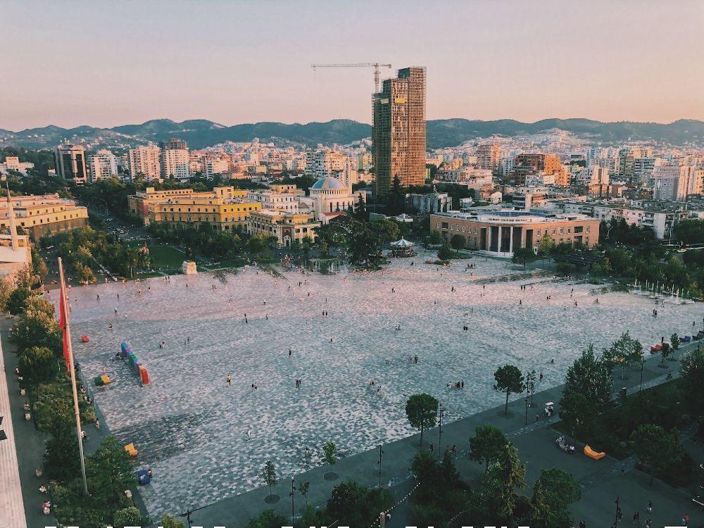 Bezienswaardigheden Albanie: Tirana