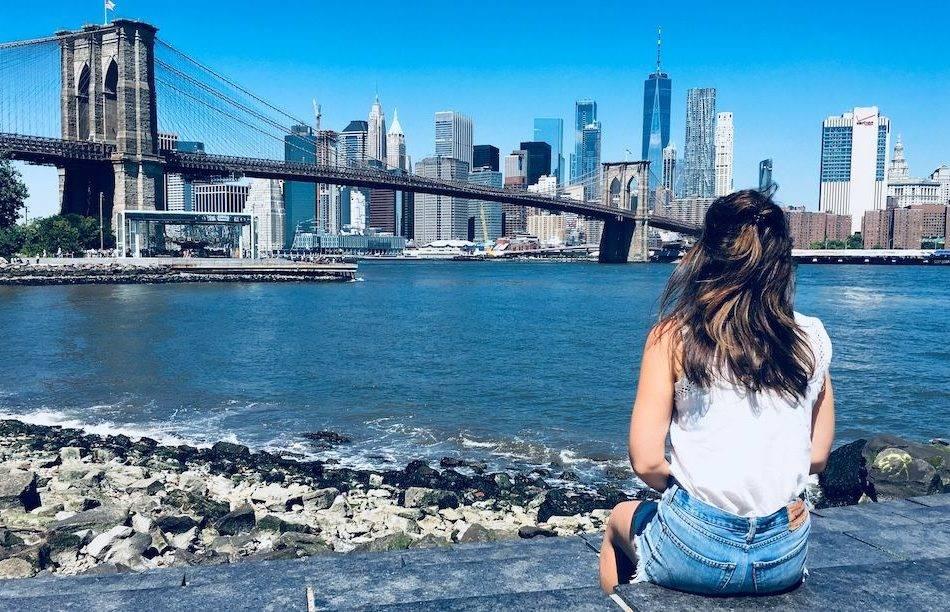 Uitzichten skyline New York